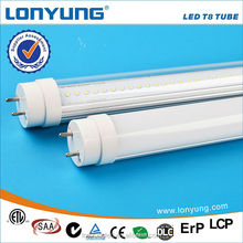 Factory price 2FT 60cm 12w direct-replace SMD2835 t8 led ping tube 12w with ETL TUV SAA CE ROHS DLC LCP approval