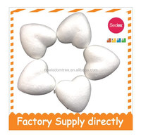 2015 New Kids Accessories China, Art and Craft Polystyrene- Heart Shape