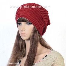 sombrero de la gorrita tejida