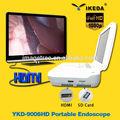 Armazenamento de imagens, duplo telas lcd, fonte de luz led& alta definição integrado portáteis e endoscópios