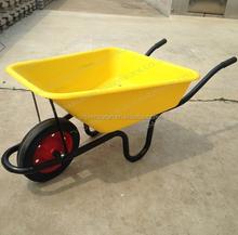 WB3800 Poly Gardeners Wheel Barrow Solid Rubber Wheel
