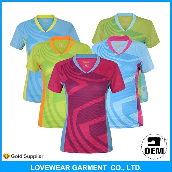 Hot Sale Custom Blank Polyester T Shirt For All Over Silk