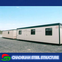 2015 new type light weight steel structure portable houses/villa/container/office