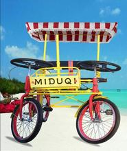 Multifunctional tandem bike aluminum frame for wholesales
