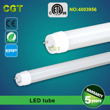 LED tube light T8 led tubo 2FT 4FT 5FT 6FT 8FT ETL UL listed 5 years warranty