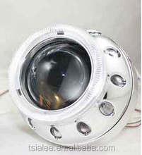 Bright angel eyes hid projector lens for car headlight
