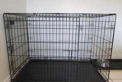 Foldable Metal Dog Cages/Dog House Easy to Carry/Breeding Cages