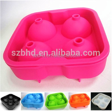 Best saling!100% Food grade single whisky silicone ice balls