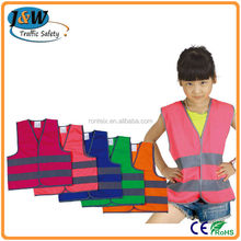 Wholesale Alibaba High Reflective Children Mesh Safety Vest for Sale