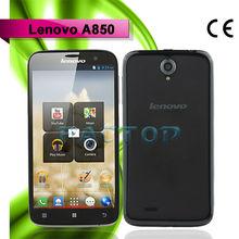 quad core smartphone lenovo a850 dual sim card dual standby with CE certificate