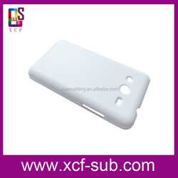 For Samsung Core2 3D sublimation plastic cell phone case/ 3D cell phone case /3D sublimation blank mobile phone cover