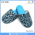 Mode beliebt leopardenmuster frauen neue mode pantoffeln innen-