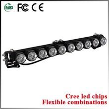 Led light bar headlight led light up bar drink ware 4x4 light bar with cree