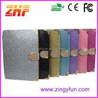 shimmering powder rhinestone cover cases for android tablet with sexy girl