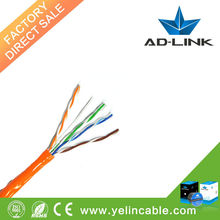 Pass FLUKE test function network cable Yuelin company cabl cat5e insulated cables