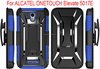 T combo holster PC+silicone super combo kickstand case for Alcatel one touch Elevate boost mobile