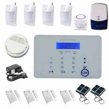 Sistema gsm d'allarme antifurti kit completo radiofonico marcación automática sms& chiamata
