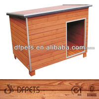 Lean-to Roof Wooden Dog Kennel,FSC, DFD-007