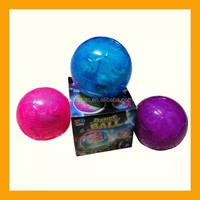 LED Disco Dance Music Dancing Ball Flashing Light World Cup Soccer Toy