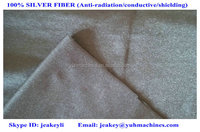 EMI shielding silver fiber fabric Antiradiation fabric Conductive fabric YSILVER81#