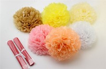 Wedding Shower Home Decorations Party Supplies Tissue Paper Pom Poms Flower Balls