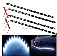White 30CM 5050 12-SMD DC12V Flexible Waterproof LED Strip light For Car Interior & Exterior Decoration DRL Day Running Light