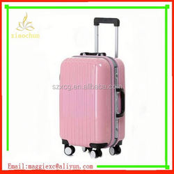 xc-3818 cool hard shell travelmate luggage carboard suitcase