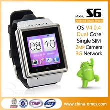 1.54 inch MTK6577 3G GPS Smart Wrist Watch Phone Android wifi