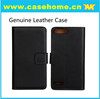 Good Quality Genuine Leather Flip Case for Huawei G6