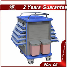 hot selling Durable double side available both sides ! clinic abs medicine trolley