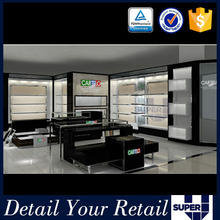 Customized boutique decoration display furniture for shoe boutique display iron