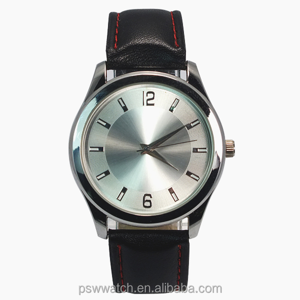 fashion quartz leather watch man classic watch