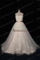 2013 Lazaro Designer Puffy Branco Tulle vestidos de casamento china NS165