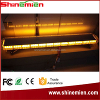 55inch 104W 104 LED fire truck light tower vehicles warning strobe light 12V strobe warning light bar
