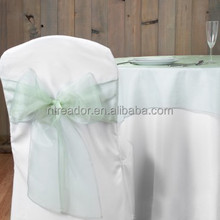chair cover sash for wedding decoration, organza sash,satin sash