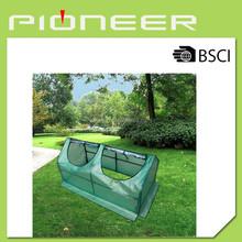 Portable tunnel planting house 120*60*60cm, 140g PE protection cover with windows mini tunnel planting house