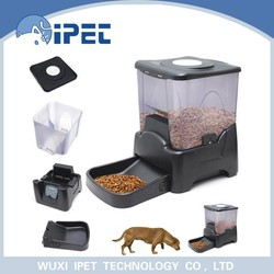 Ipet Eco-friendly automatic large capacity pet feeder 2015 newly designed Hot selling