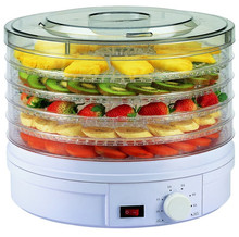 Electric Food Dehydrator with Adjustable Thermostat