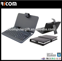 """Magnetic detachable mini wireless bluetooth keyboard with protecting case for all 7"""" tablet PC,andriod"""