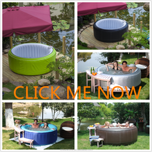 Sunzoom luxury round hot tub, inflatable , inflatable fashion tub