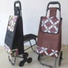 Outdoor trolley shopping bag with chair with 6 wheels