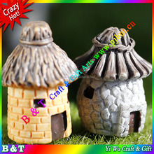 2015 Hot Moss micro landscape ornaments Circular cartoon expression model of DIY assembly house small place BNTM 054