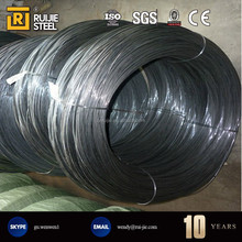 Low price 4mm black iron wire / black annealed wire for binding