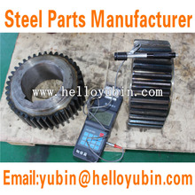 OEM ASTM/ AISI Standard High-Precised Customized Forged Steel Gear with Large Diameter