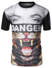 Hot sell high quality unisex v-neck/o-neck muscle fit t shirt 140 gsm