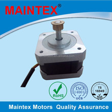 0.4A rated current bipolar drived stepper motor nema 17 with heat shrinkable tube