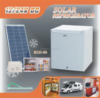 50L dc 12V 24V home appliance solar powered refrigerator freezer fridge AC/DC adapter refrigerator fridge freezer