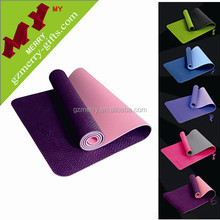 Made in Guangzhou wholesale eco friendly blank tpe yoga mat manufacturer