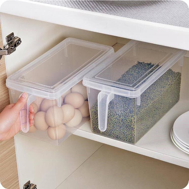 Apilable cajas de contenedores plasticos decorativas a medida