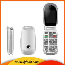 OEM Elder Cell Phones 2.2INCH QVGA MTK6260 Big Keyboard Big Font GPRS/WAP Quad Band Unlocked GSM SOS Flip Phone T03